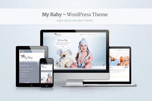 My Baby - Baby's Responsive WP Theme