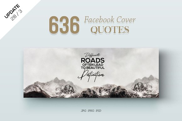 636 Facebook Cover Quotes