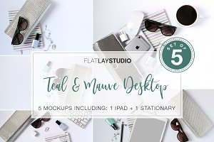 FLAT LAY - SET OF 5 FEMININE #48