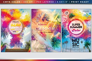 Colorful Flyers Bundle Vol. 11