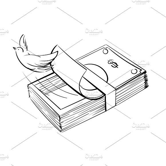 Illustration Of Finance Concept
