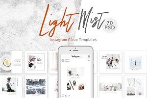 Light Mist Instagram Posts