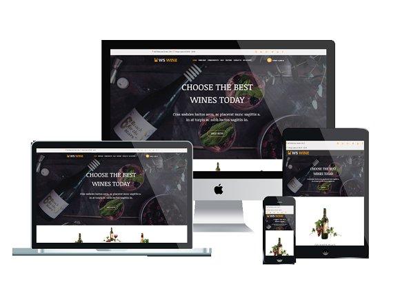 WS Wine Wine Store WooCommerce
