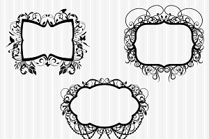 Elegant Frames 2 Vectors and Clipart