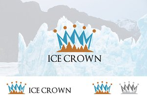 Iceberg Mountain Royal Crown Logo