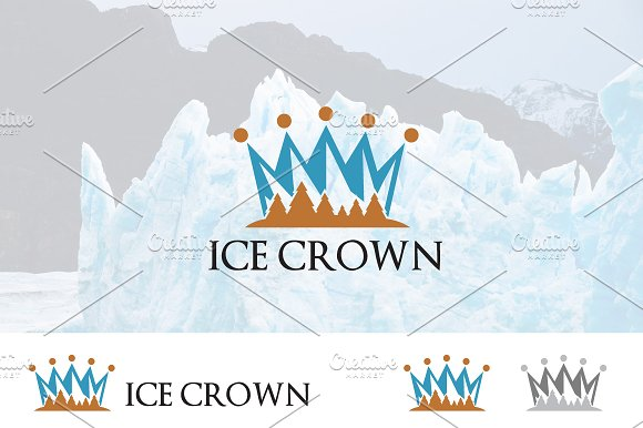 Iceberg Mountain Royal Crown Logo