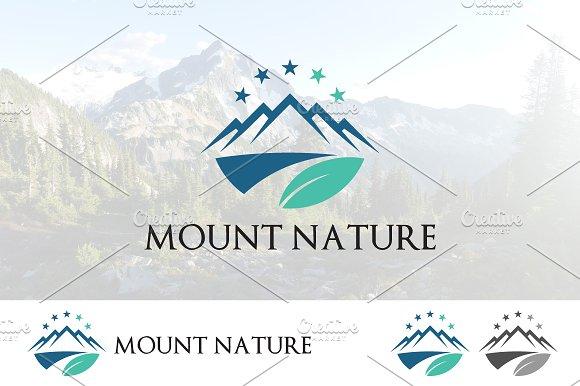Leaf Mountain Star Logo