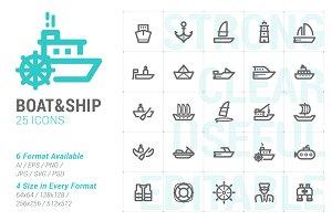 Boat & Ship Mini Icon
