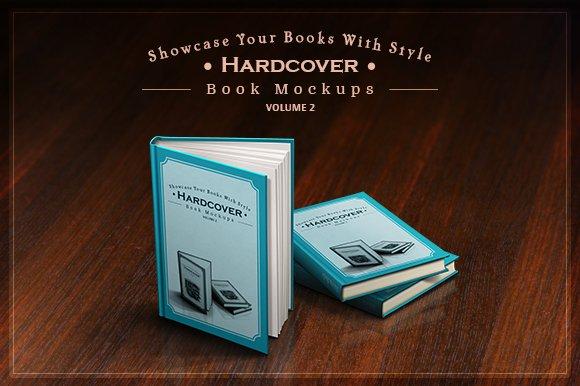 Download Hardcover Book Mockups - mega pack