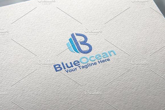 Blue Ocean Logo Template