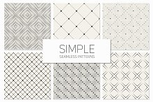 Simple Seamless Patterns. Set 2