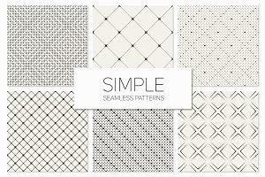 Simple Seamless Patterns. Set 2