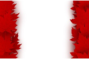 Canada day background design