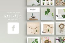 NATURALIS Facebook Pack by  in Facebook