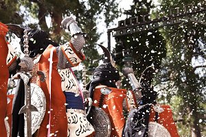 Moors and Christians festival, Spain