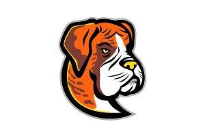 Boxer Dog Mascot