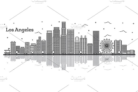 Outline Los Angeles California City