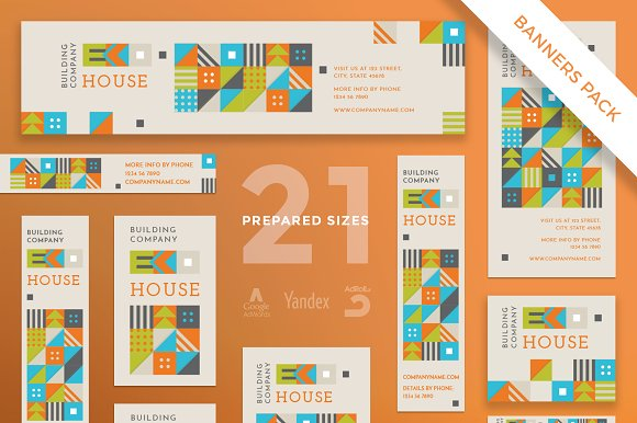Banners Pack Eco House