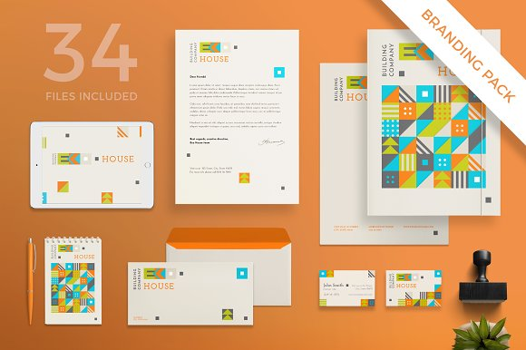 Branding Pack Eco House
