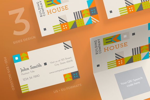 Business Cards Eco House
