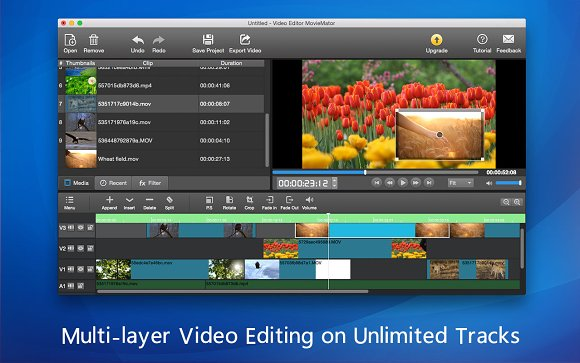 Movie Video Editor MovieMator Mac