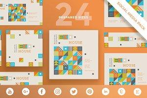 Social Media Pack | Eco House