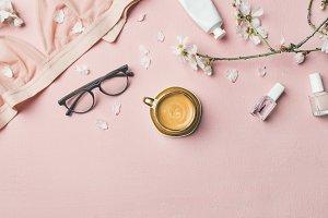 Feminine morning rituals