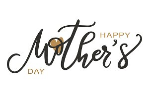 Happy Mother's day and heart