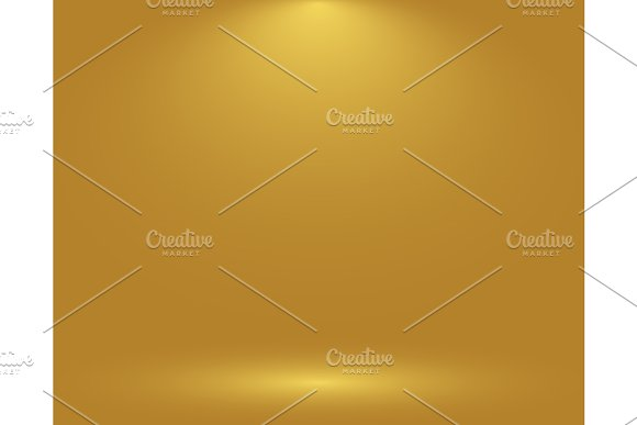 Abstract Luxury Gold Studio Well Use As Background Layout And Presentation Vector