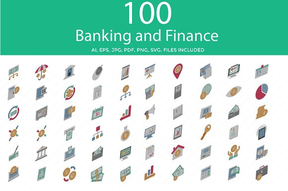 Banking And Finance Vector Icon