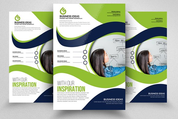 Business Coaching Strategy Flyers