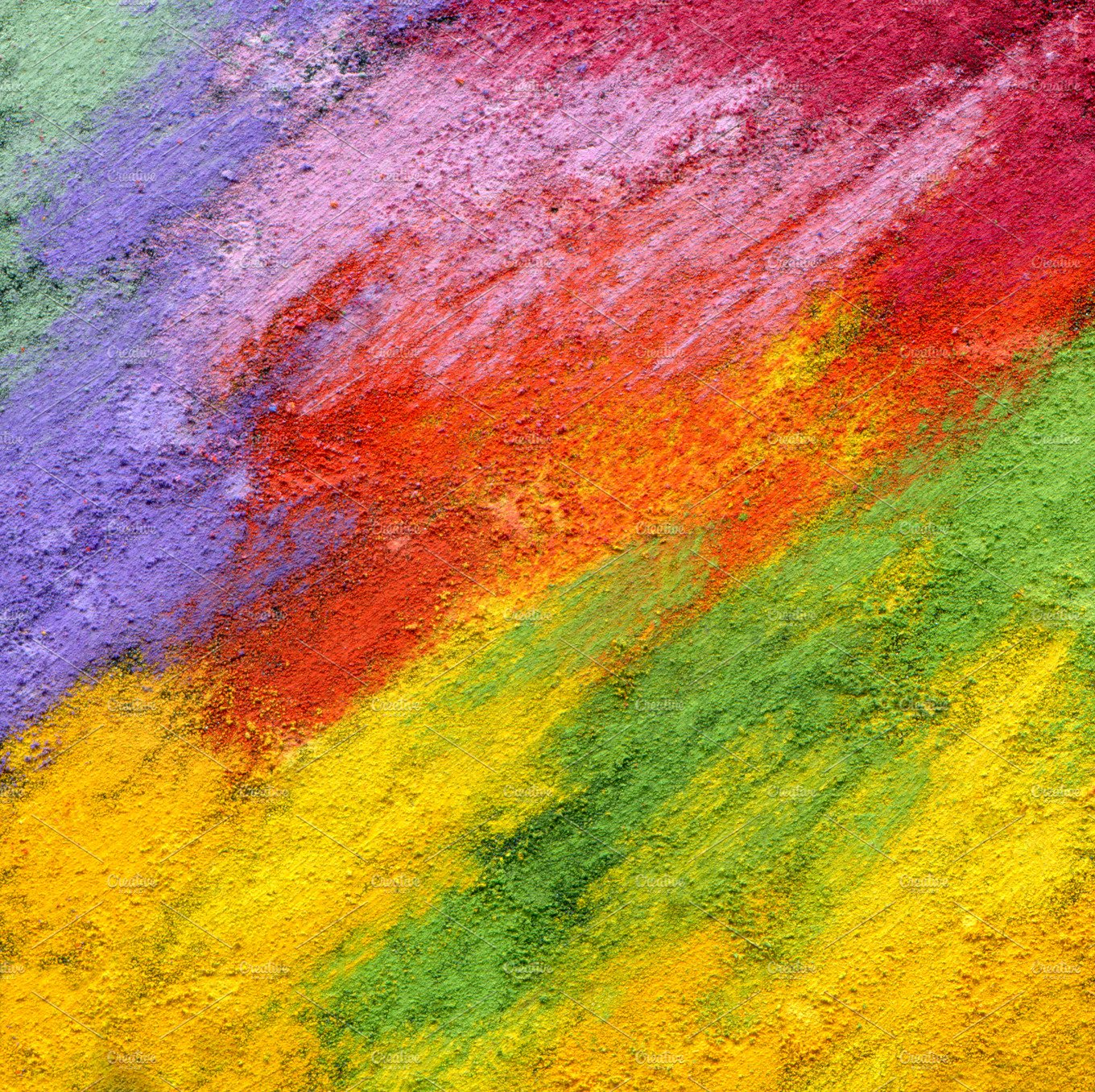 oil pastel painted background ~ Abstract Photos ~ Creative ...