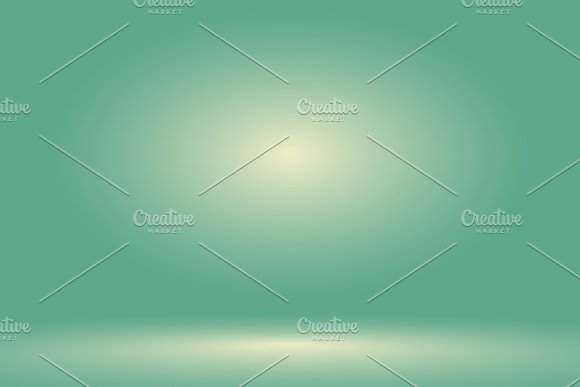 Vector Empty Pastel Green Studio Room Background Template Mock Up For Display Of Product Business Backdrop
