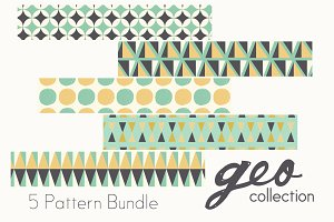 Geo patterns collection