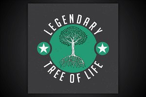 Legendary tree of life