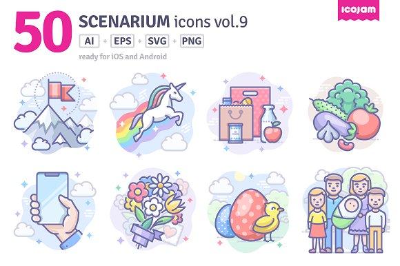 Scenarium Icons Vol.9