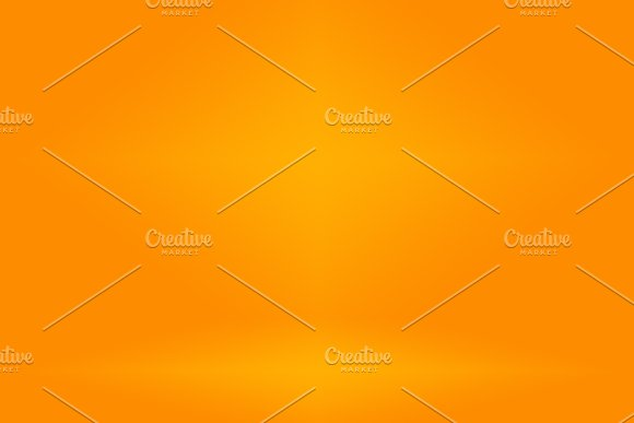 Abstract Orange Background Layout Design Studio Room Web Template Business Report With Smooth Circle Gradient Color