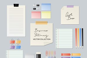Flat Business Stationery Collection