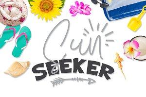Sun Seeker SVG DXF PNG EPS