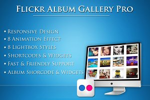 Flickr Album Gallery Pro