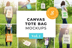 Canvas Bag Mockup Pack