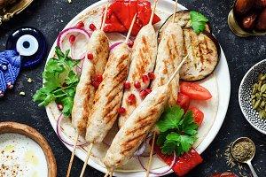 Chicken kebab, Tavuk sish kebab