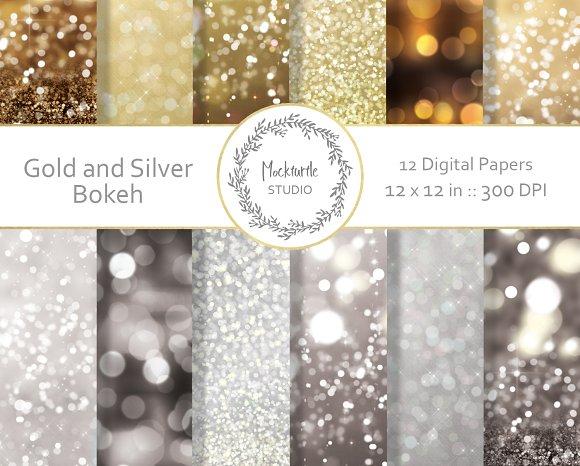 Bokeh Digital Paper