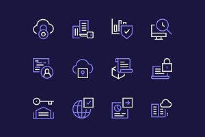 Blockchain Icons