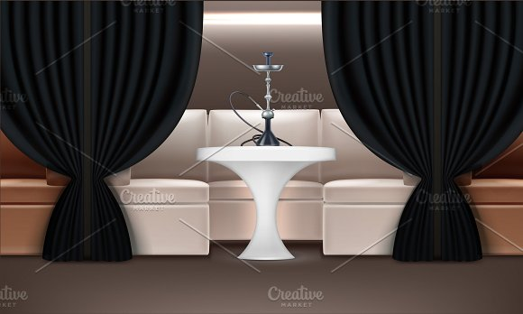 Hookah Lounge Interior