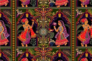 Indian Decorative Pattern