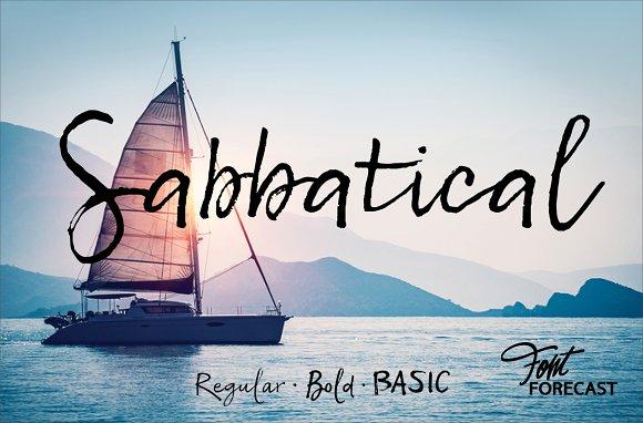 50% OFF Sabbatical
