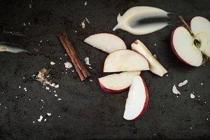 Rustic Apples and Cinnamon