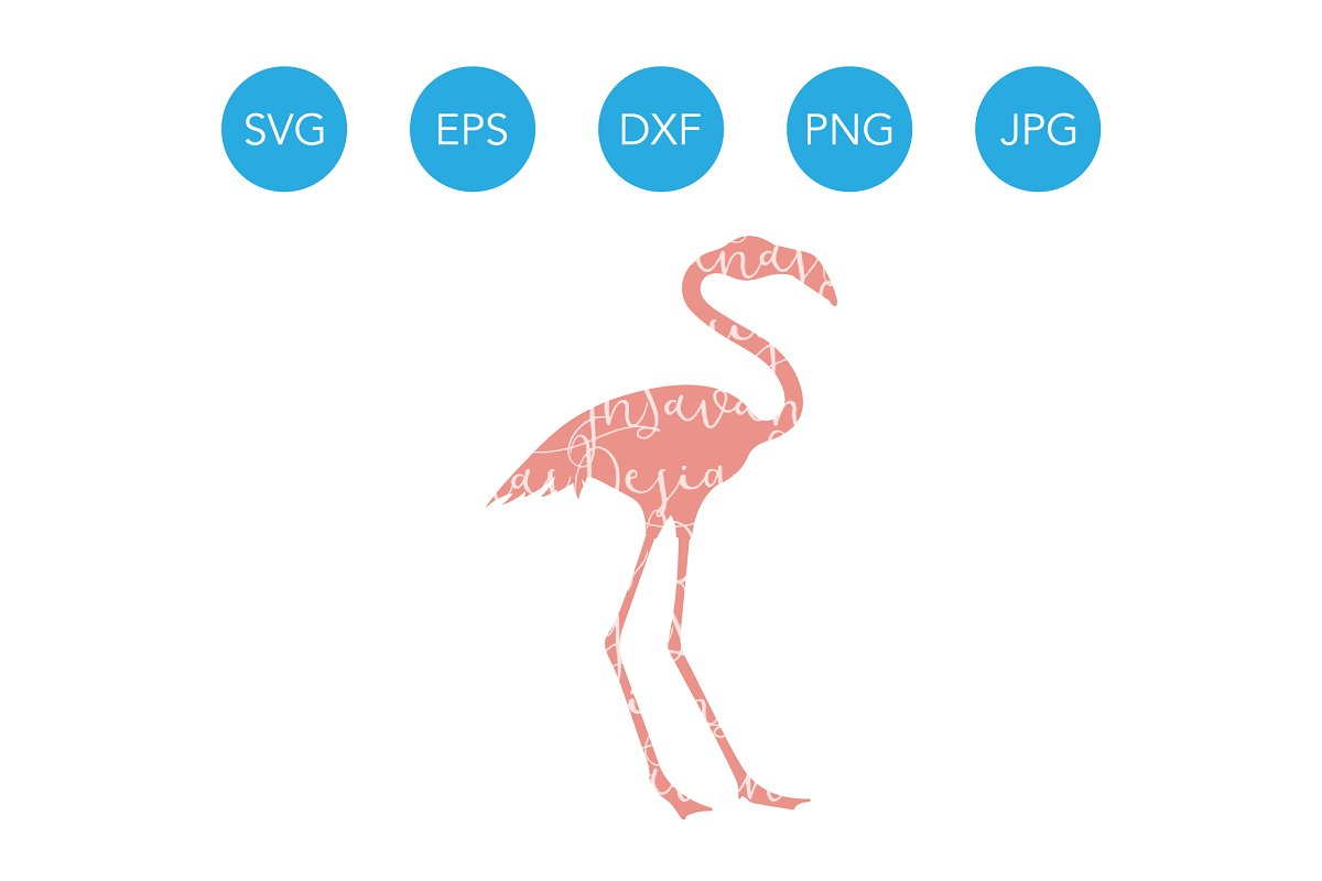 Flamingo SVG Cutting File