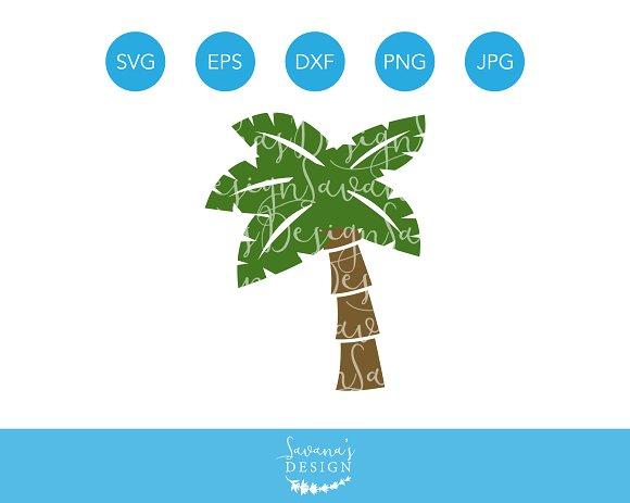 Palm Tree SVG Cutting File